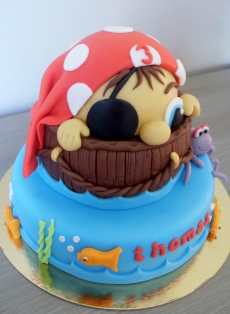 Birthday Cake For A Sailor