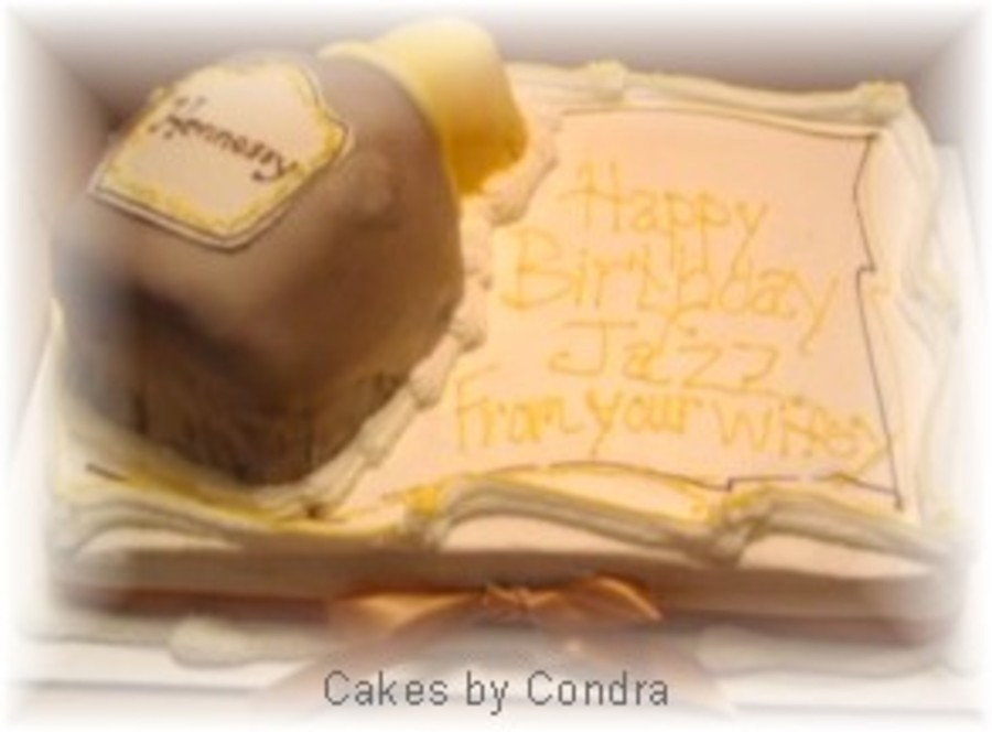 Hennessy Cake on Cake Central