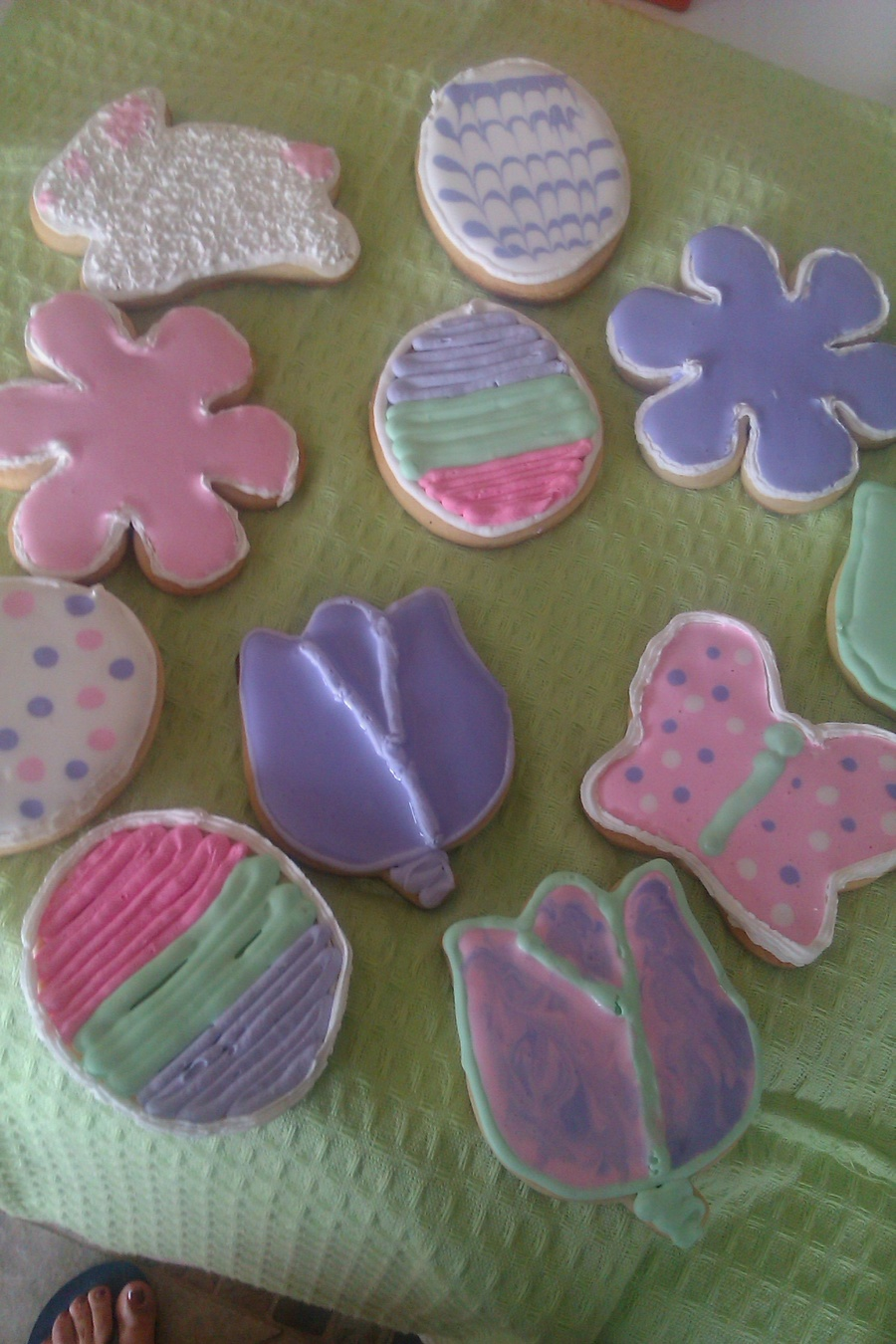Easter Sugar Cookies on Cake Central