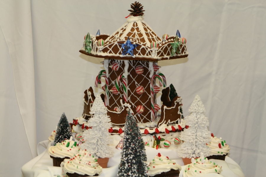 Gingerbread Carousel on Cake Central