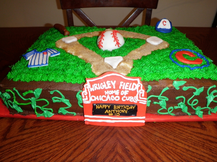 Chicago Cubs/wrigley Field Cake on Cake Central