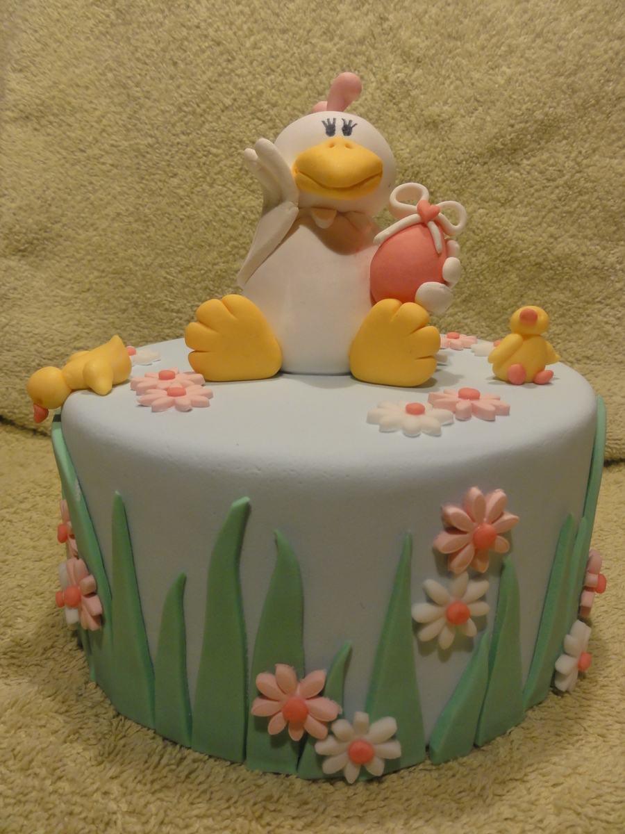 Happy Chicken on Cake Central