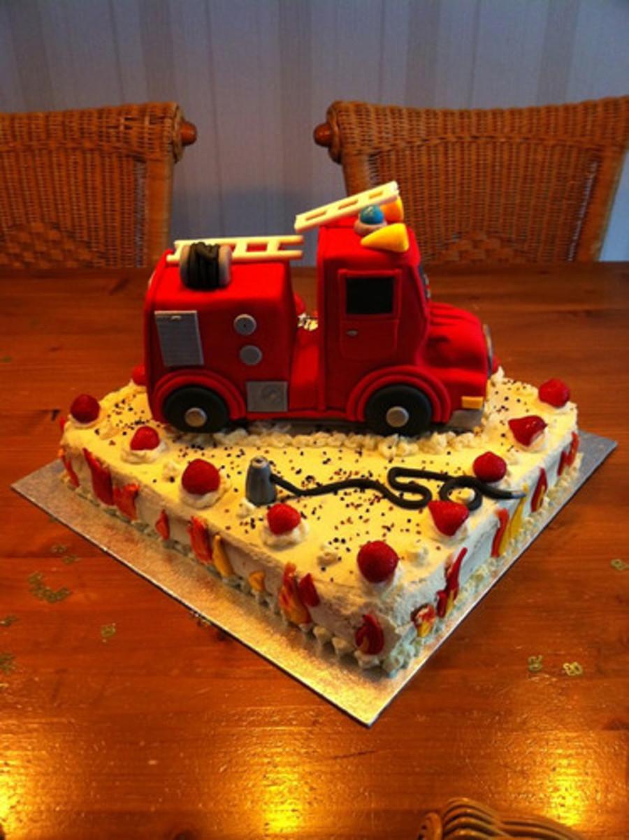 Happy Birthday Fireman Cakecentralcom