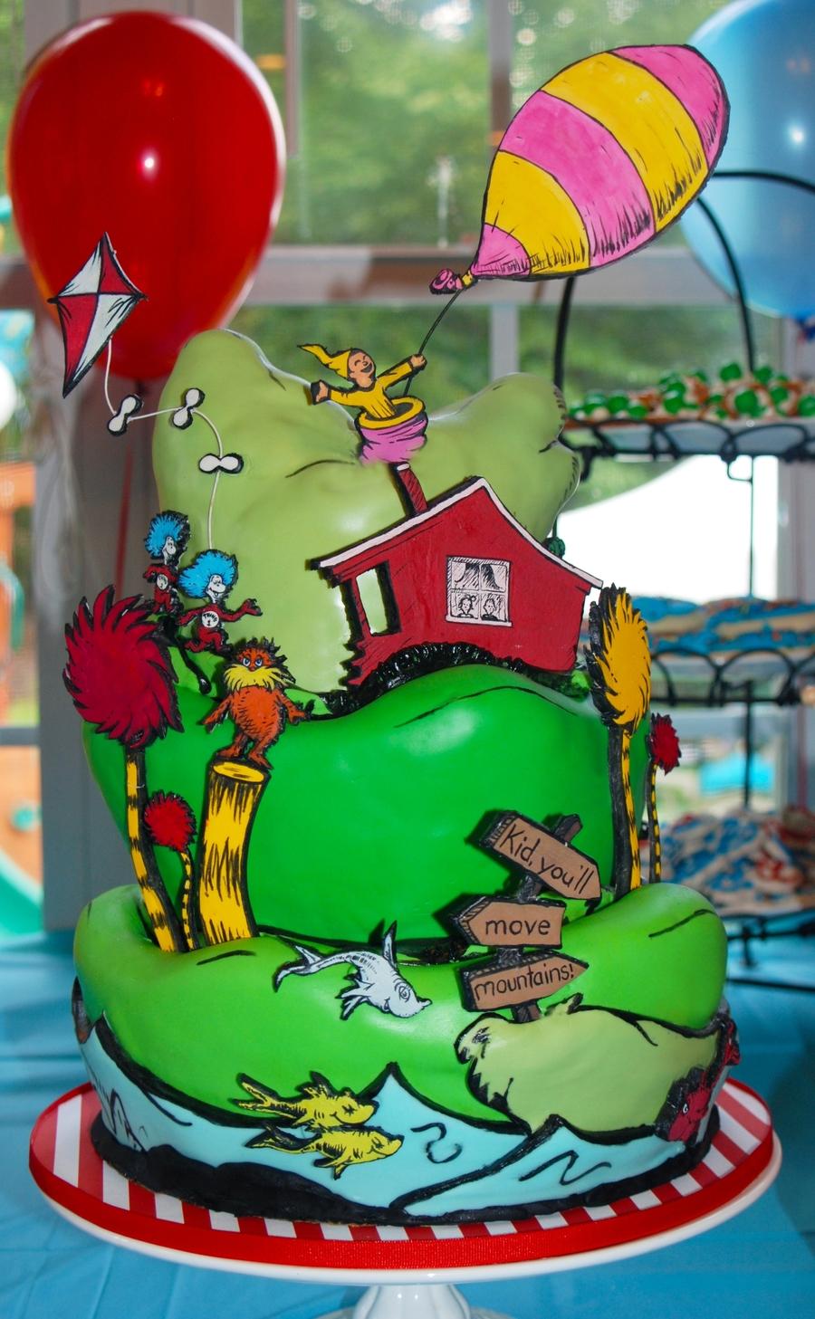 Dr Seuss Cake Cakecentral Com