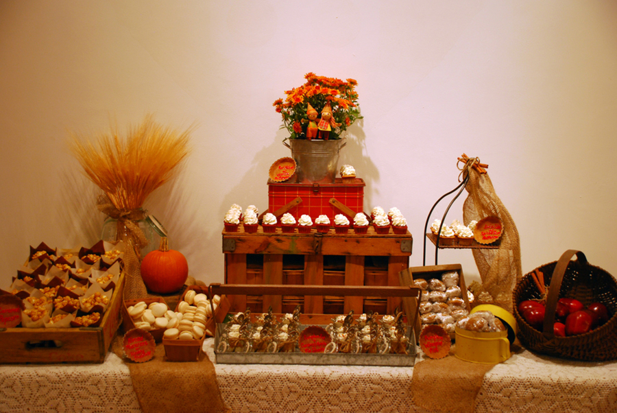 Rustic Fall Autumn Dessert Table Cakecentral Com