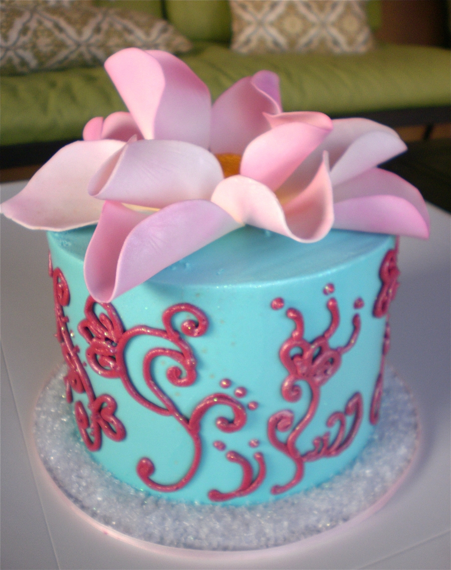 Indian Lotus Flower Cake Cakecentral