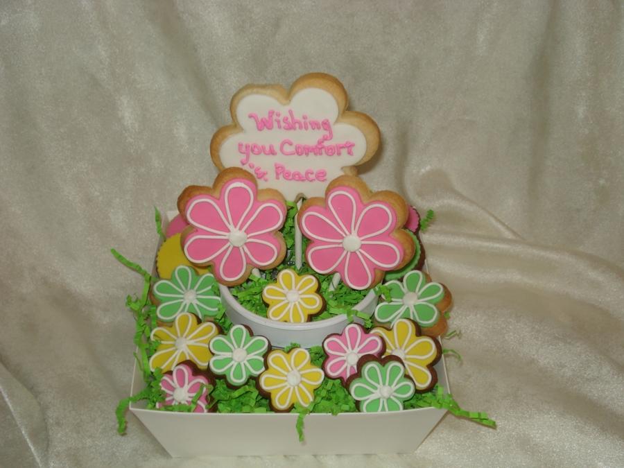 Sympathy Cookie Bouquet - CakeCentral.com