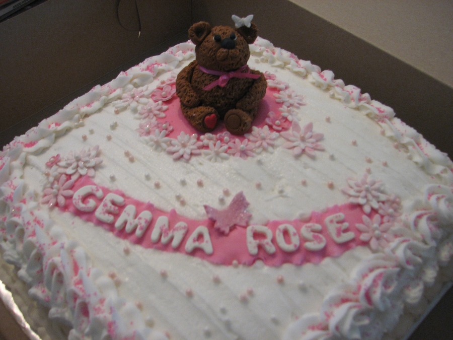 Gemma's Teddy on Cake Central