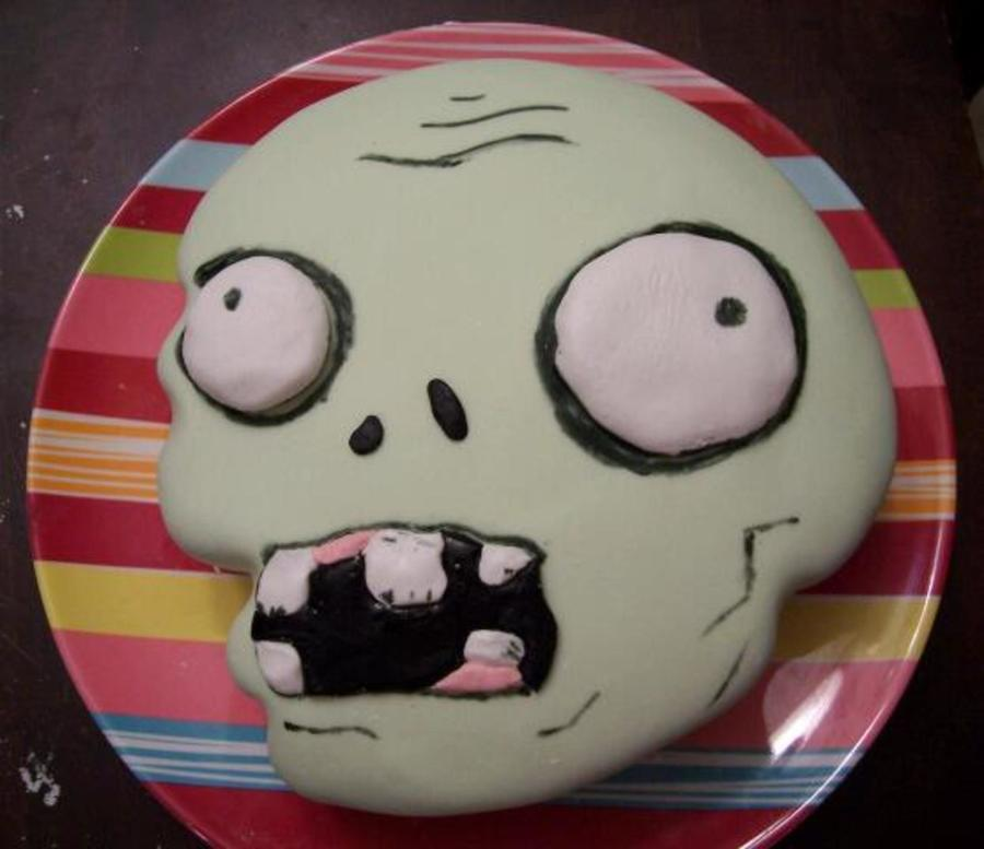 Plants Vs. Zombies Character Cake on Cake Central