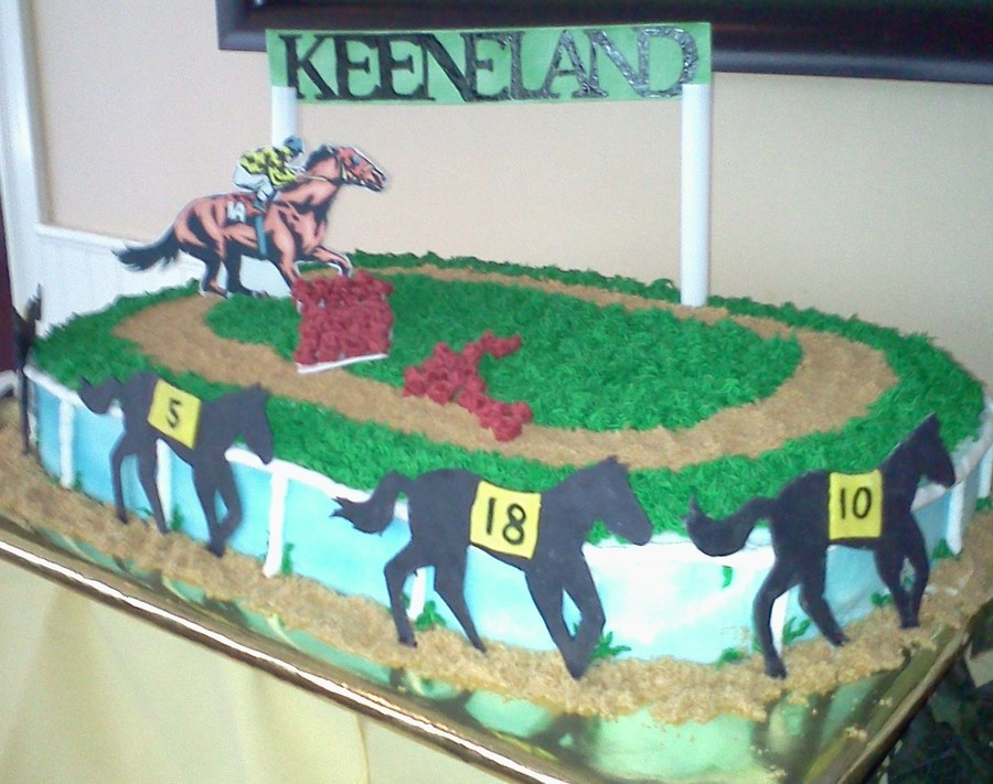 Cake Decorations Horse Racing : Horse Racing - CakeCentral.com