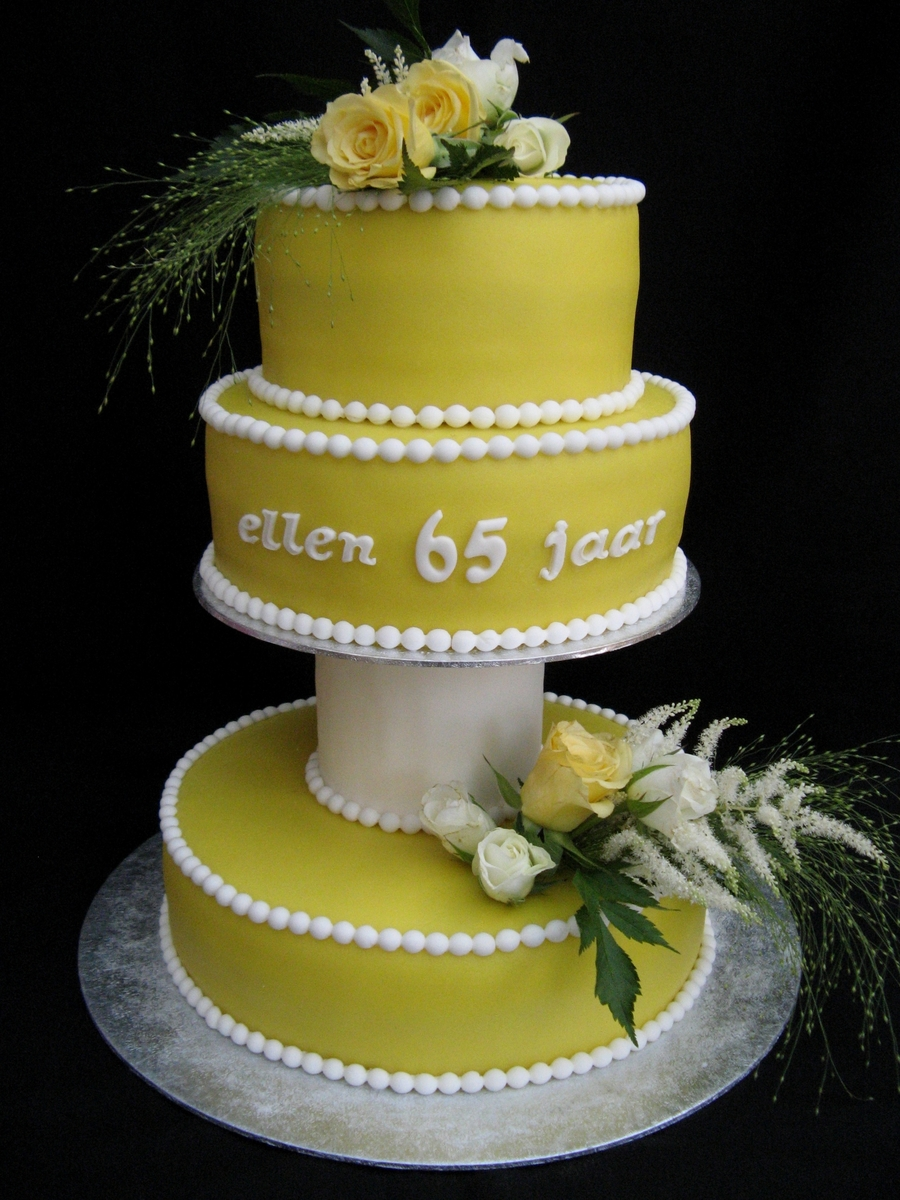For My Mother In Law Her 65Th Birthday on Cake Central