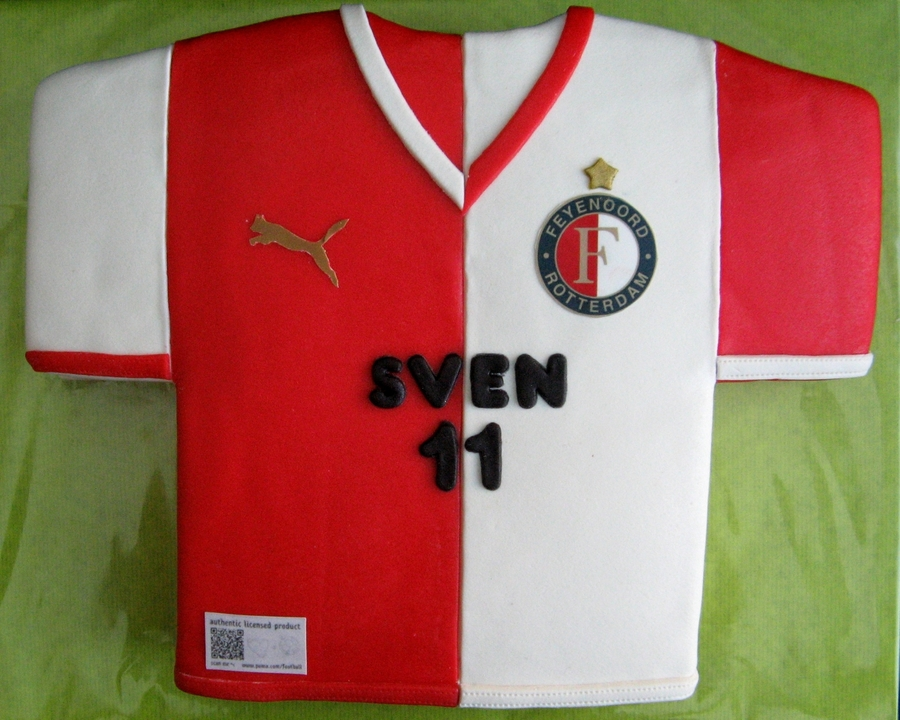 Feyenoord Cake For Sven on Cake Central