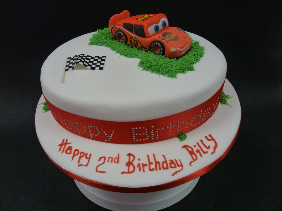 Miraculous Cars Lighting Mcqueen Birthday Cake Cakecentral Com Funny Birthday Cards Online Overcheapnameinfo