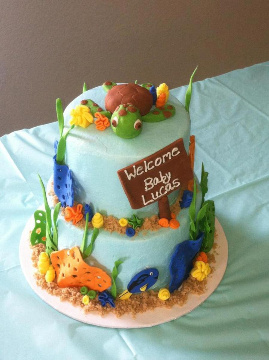 Finding Nemo Themed Baby Shower Cakecentral