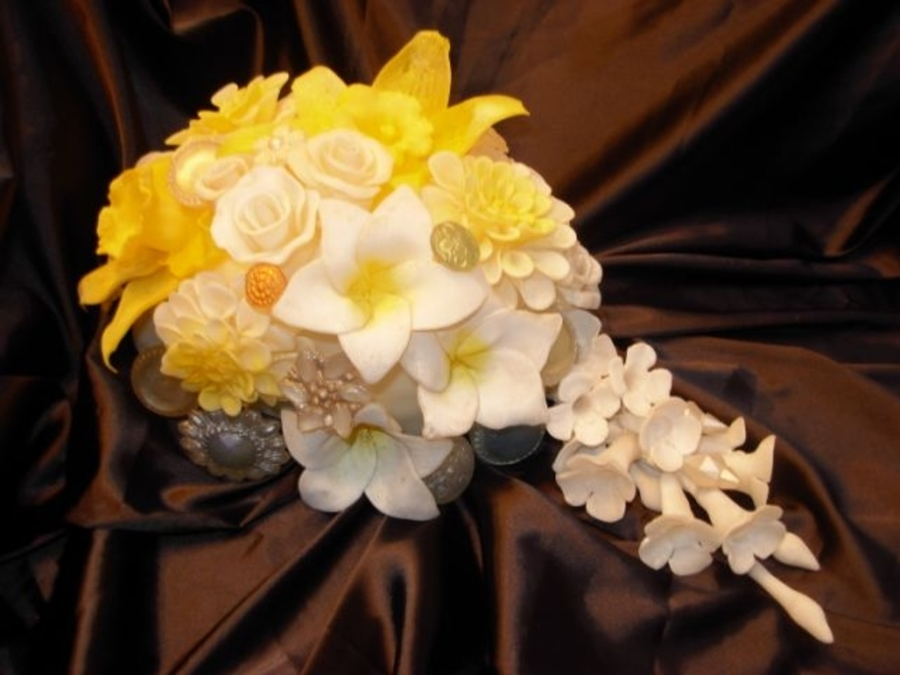 Isomalt Wedding Bouquet on Cake Central