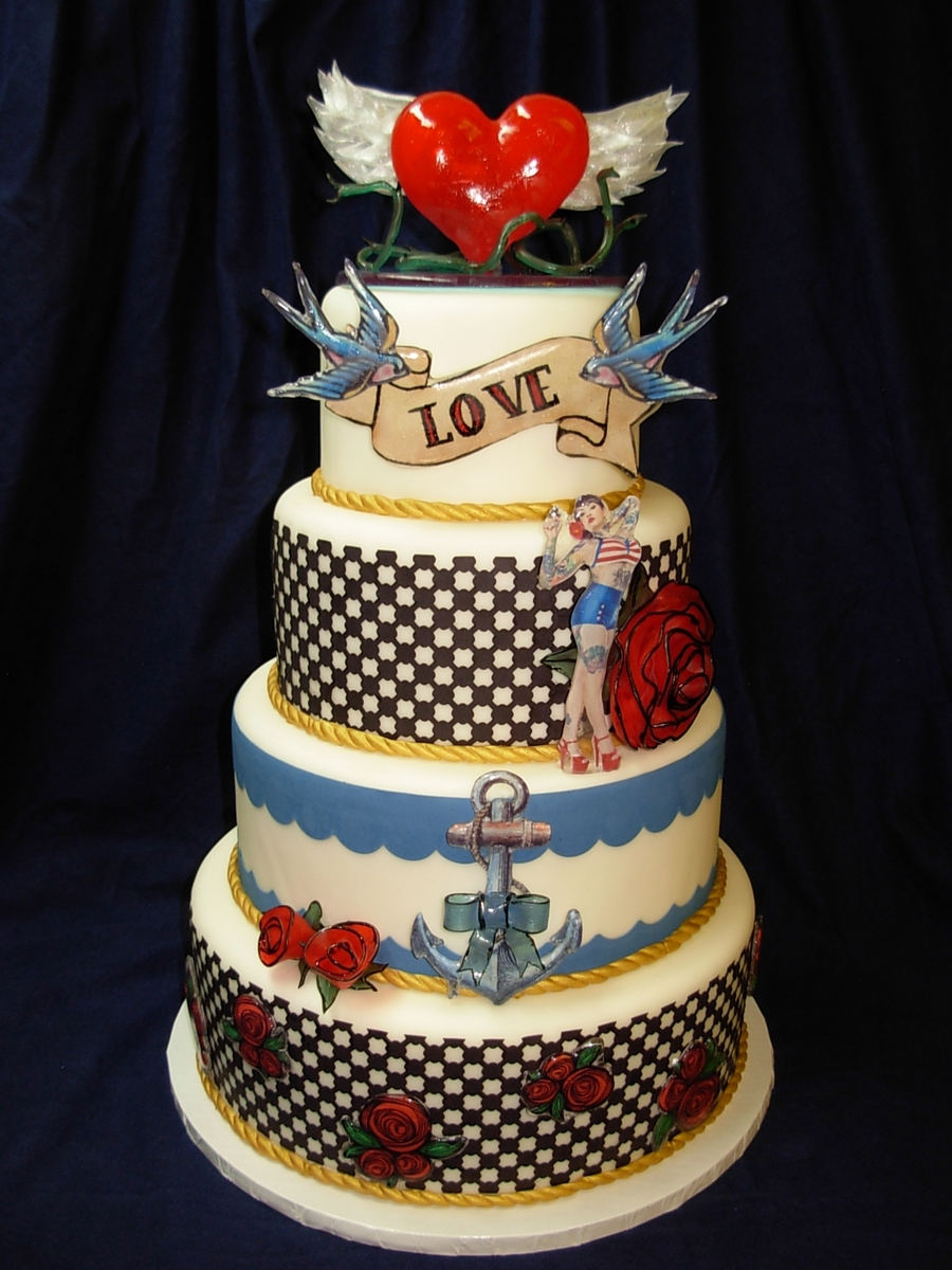 Wedding Cakes Decorations With Pulled Sugar