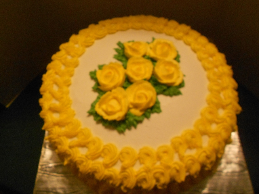 Yellow Rose Of Texas on Cake Central