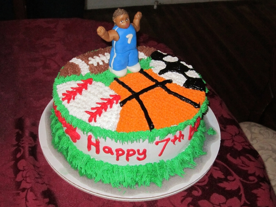All Sport Cake on Cake Central