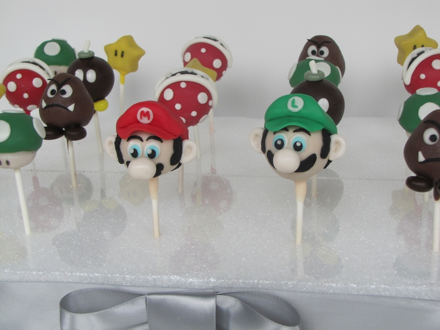 How To Make Super Mario Brothers Cake Pops