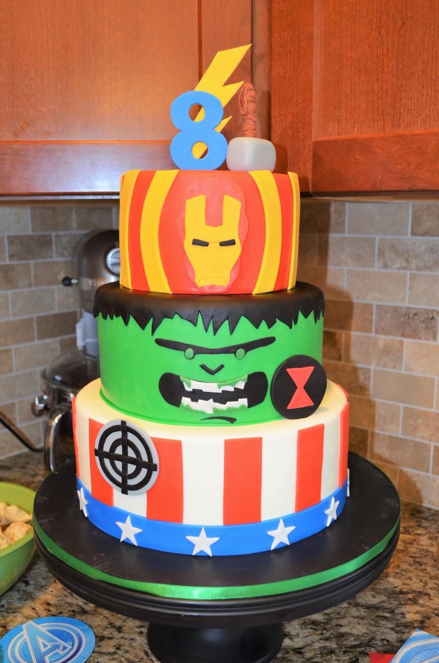 Avengers Birthday Cake - CakeCentral.com