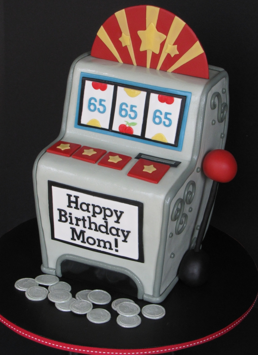Slot Machine Birthday Cake Cakecentral Com