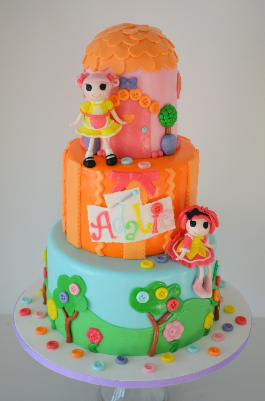 Lalaloopsy Birthday Cake on Cake Central