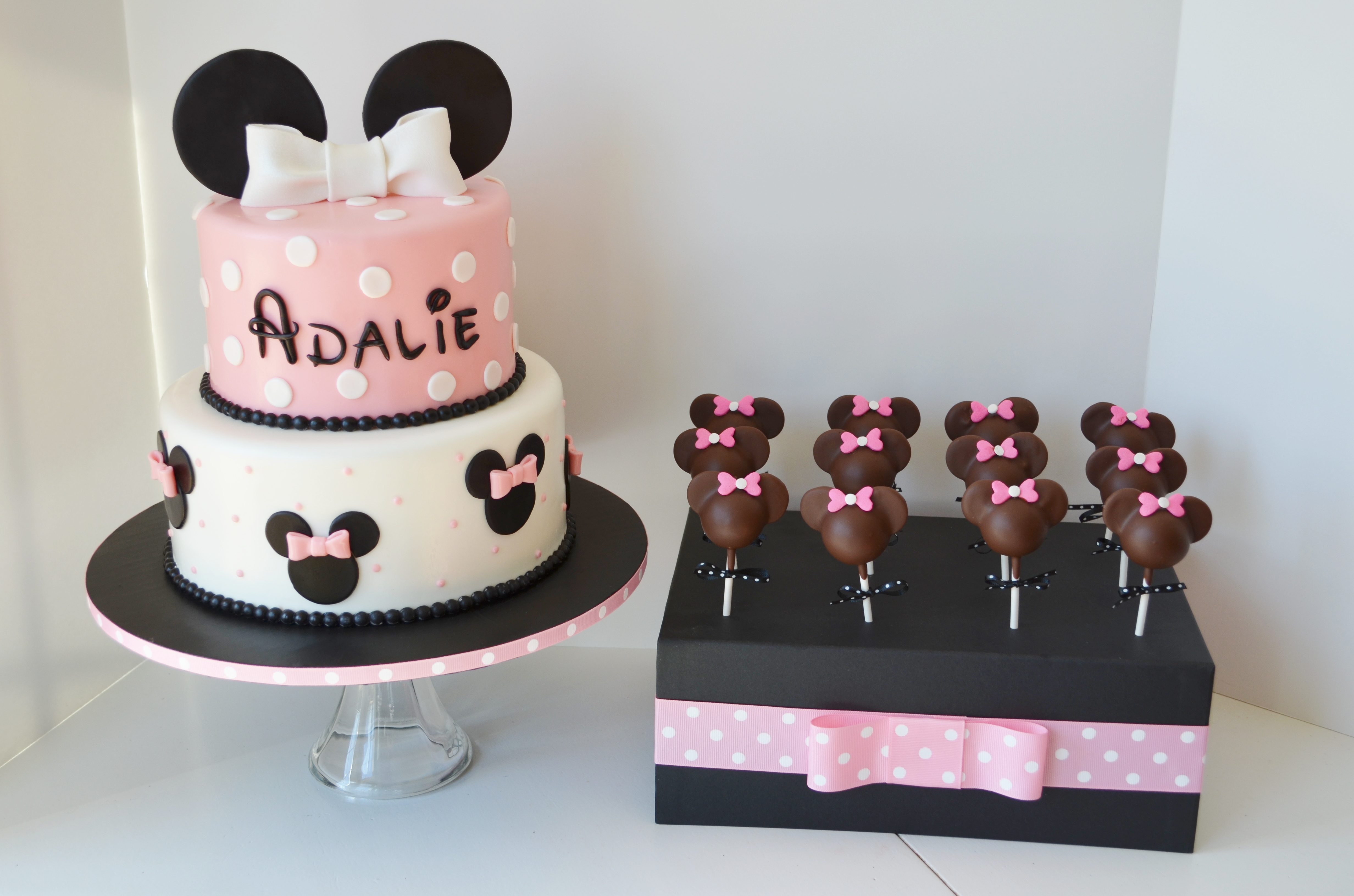 Mickey Mouse  Tier Birthday Cake