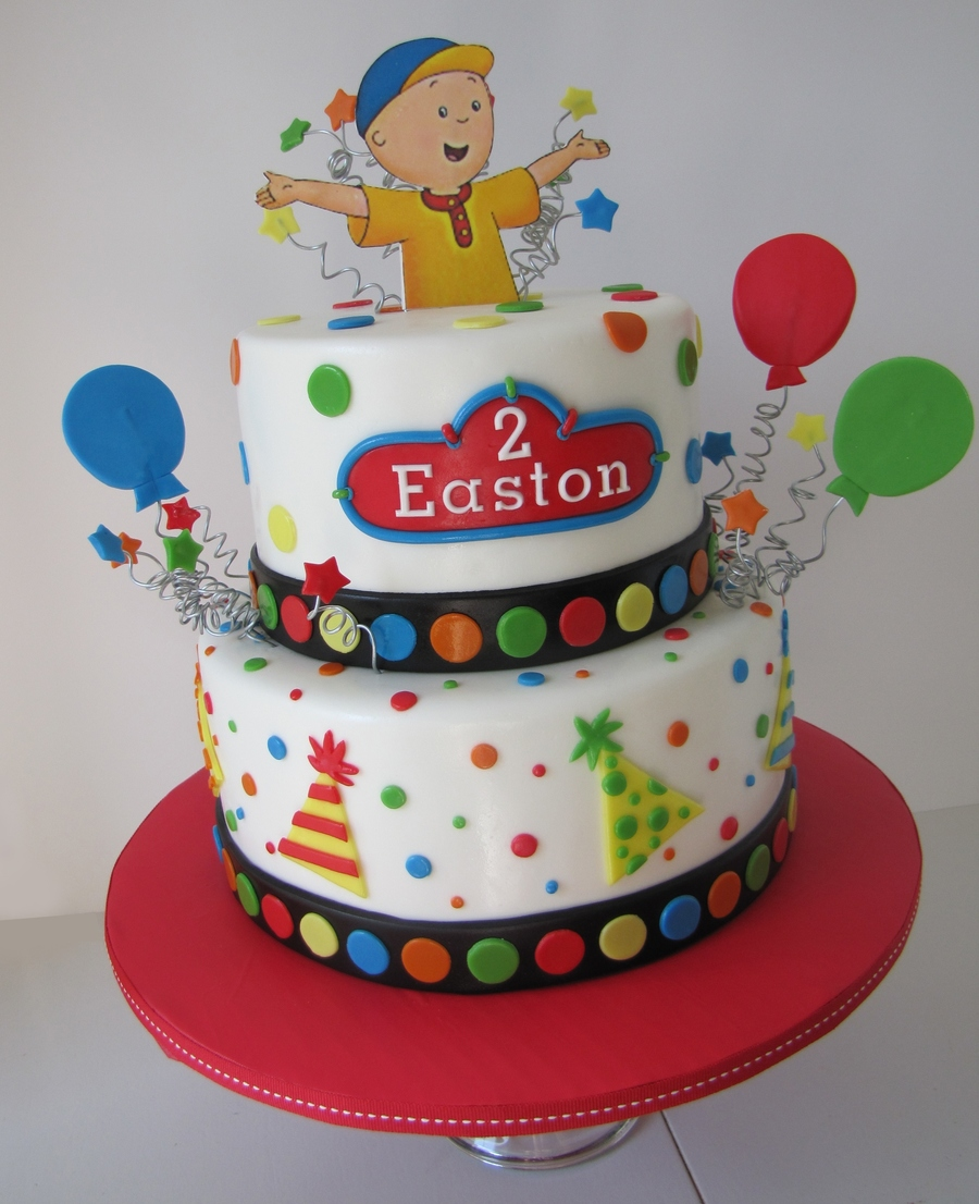 Caillou Birthday Cake on Cake Central