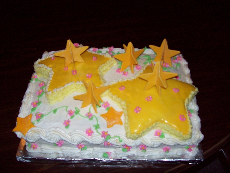 Reach For The Stars on Cake Central