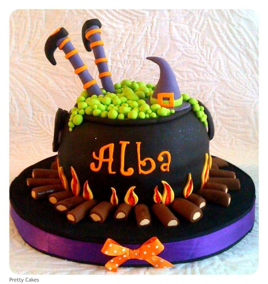 Cauldron Cake on Cake Central