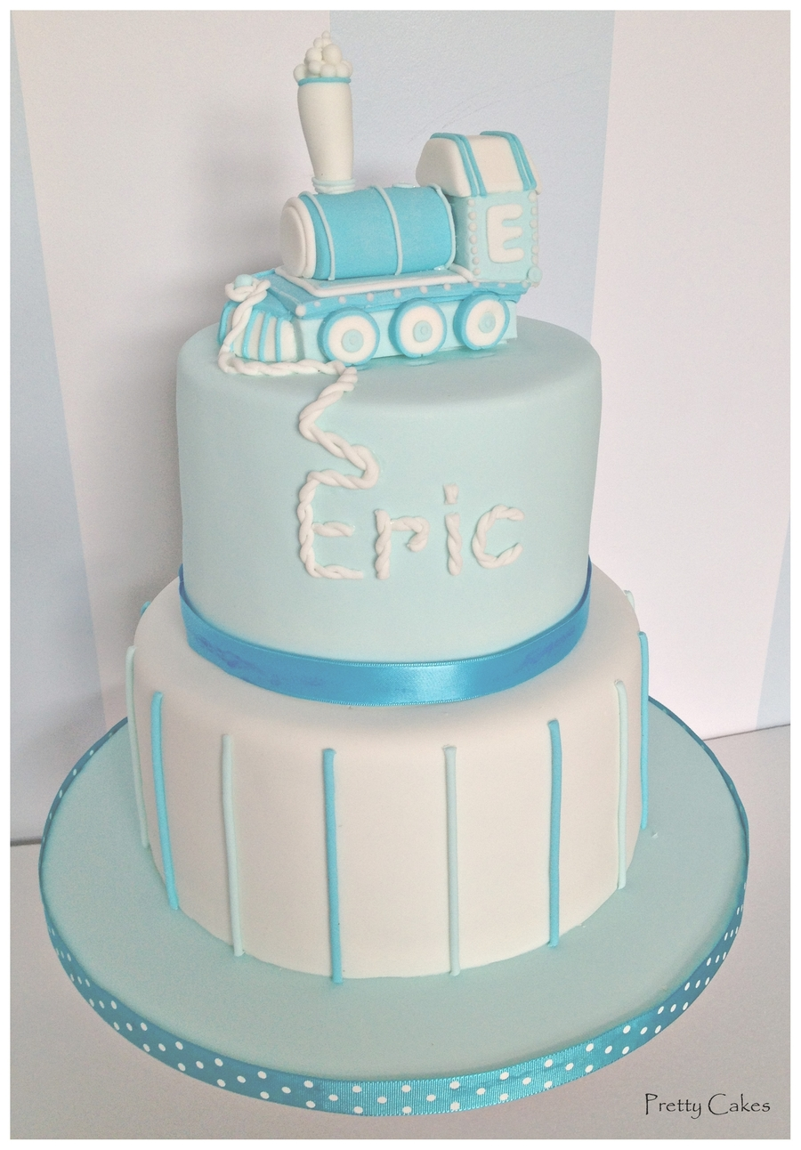 Baby Boy Christening Cake Cakecentral Com