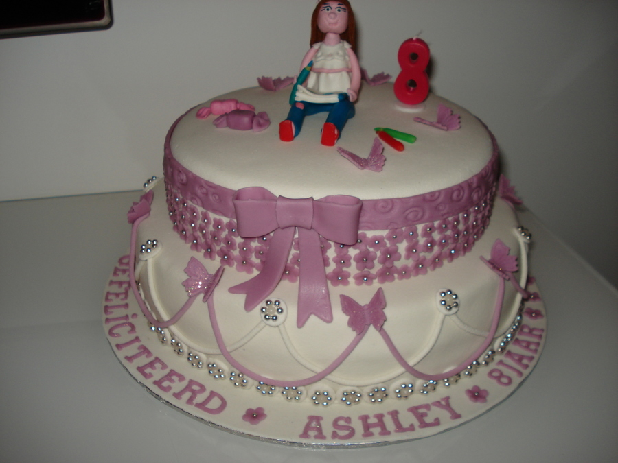 Ashley 8 Jaar on Cake Central