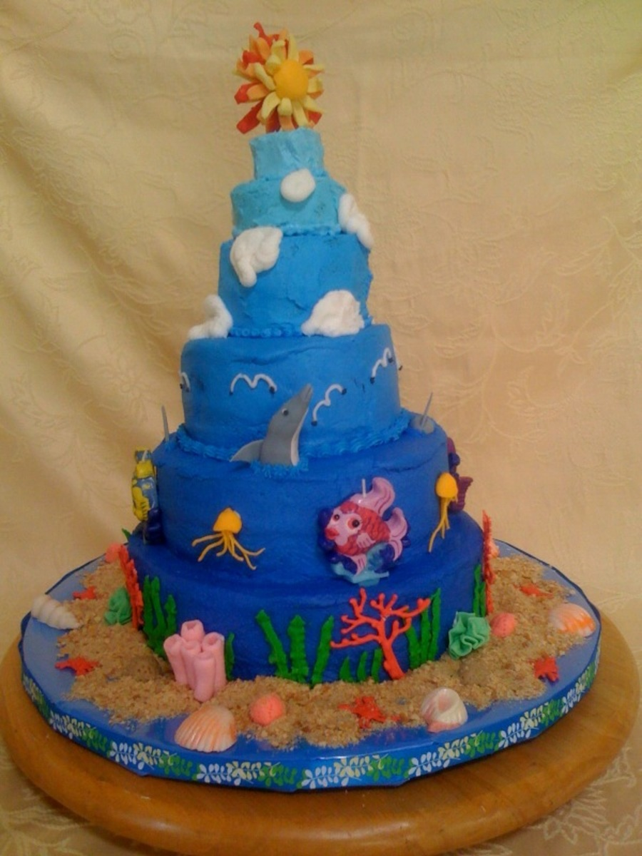 Ocean To Sky on Cake Central