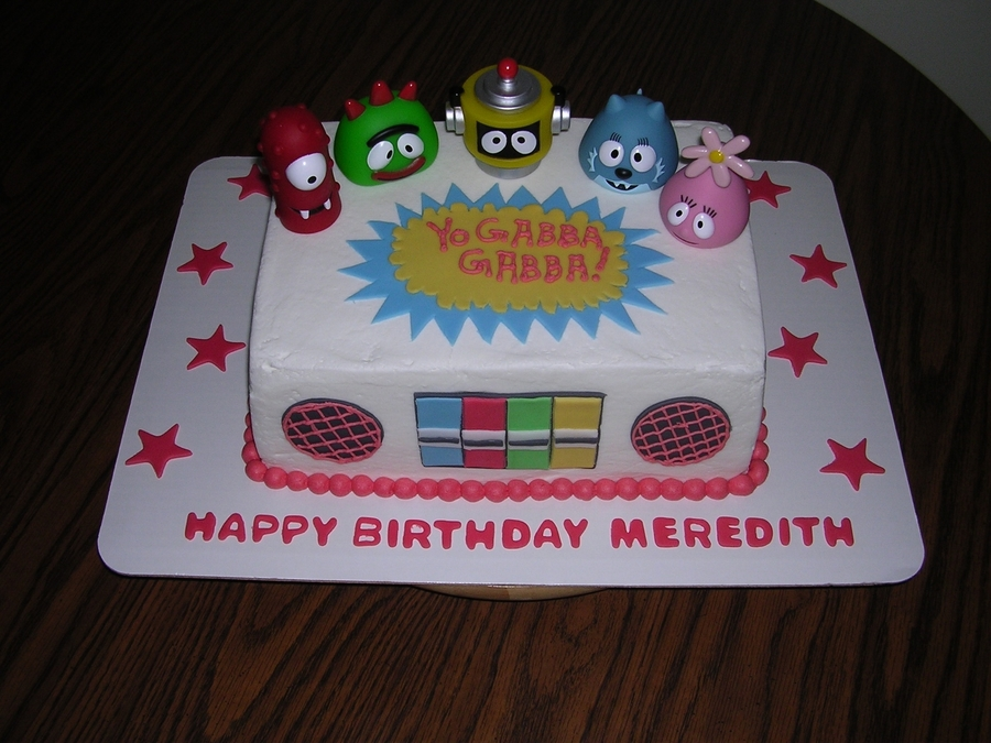 Yo Gabba Gabba! on Cake Central