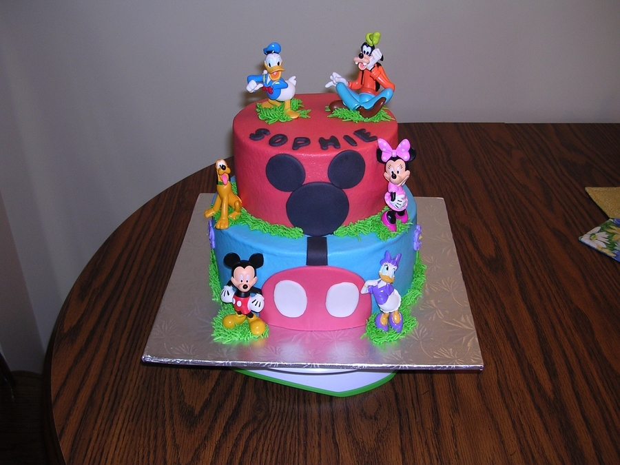 Mickey Birthday on Cake Central