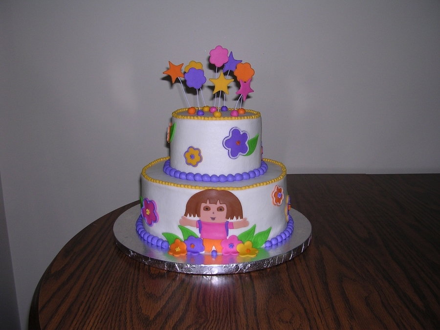 Dora Birthday on Cake Central