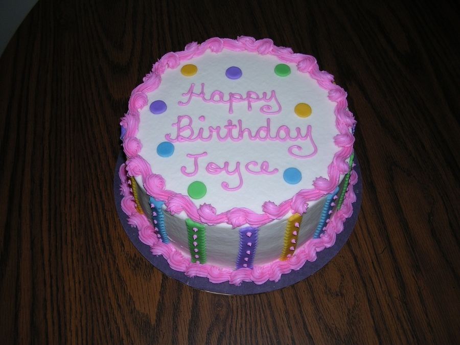 Images Of Round Birthday Cake : Round Birthday Cake - CakeCentral.com