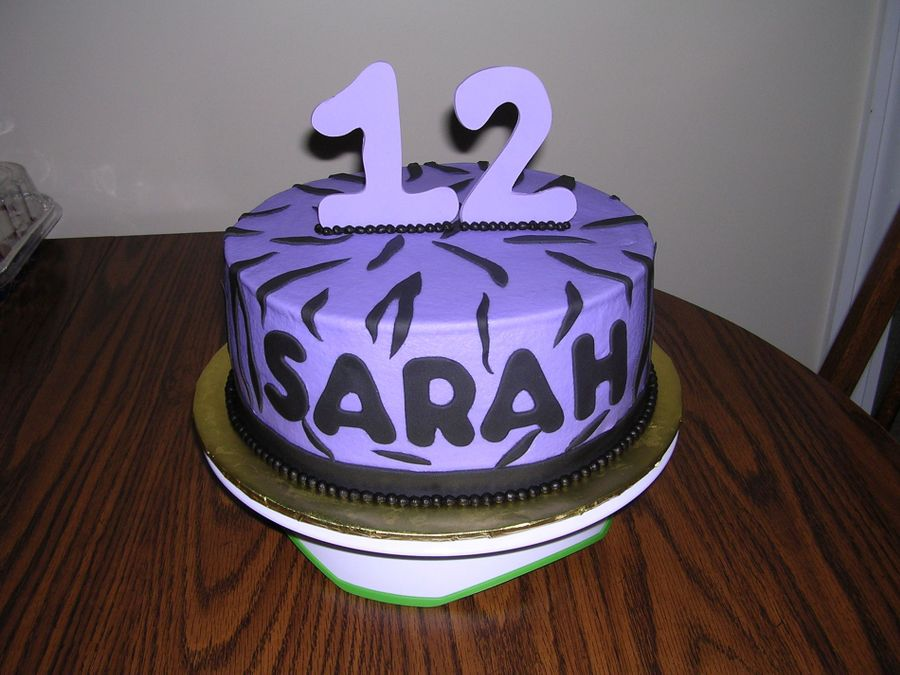 Purple Birthday on Cake Central