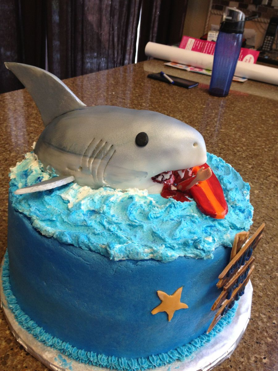Shark Birthday Cake Ideas