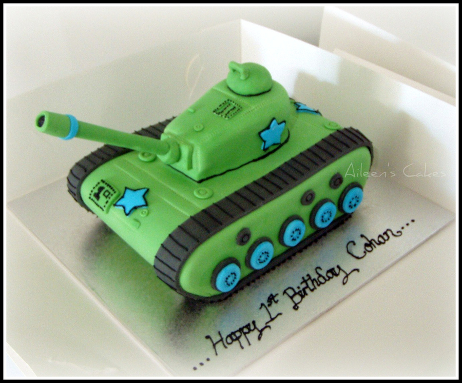 Decorated Cakes For Army Theme