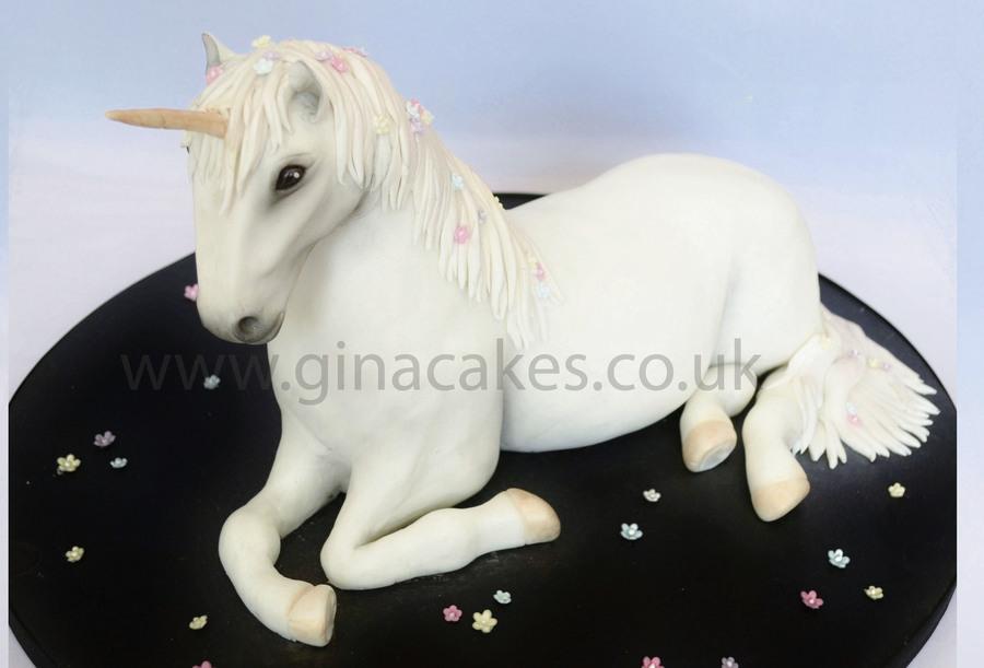 3d Unicorn Cake Cakecentral Com