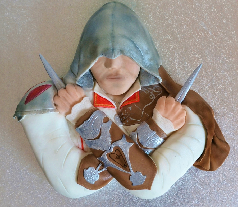 Ezio Assassin's Creed Ii Cake on Cake Central