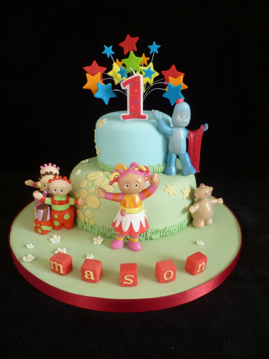 In The Night Garden Pictures For A St Birthday Cake