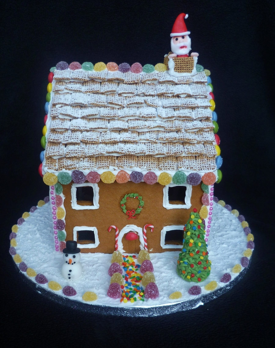 Gingerbread House Cake on Cake Central
