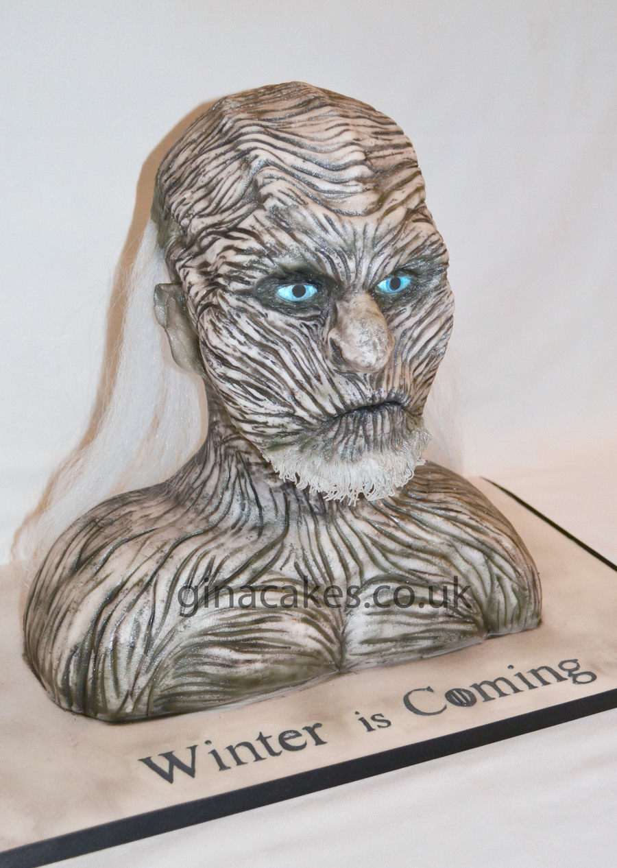 White Walker Game Of Thrones Cake Cakecentral Com