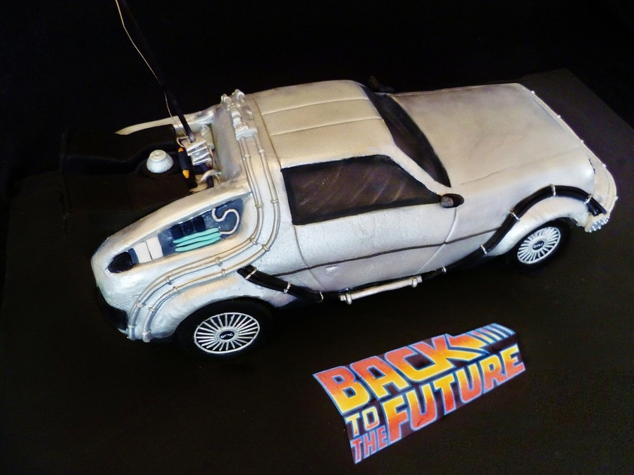 Delorean Back To The Future Cake on Cake Central