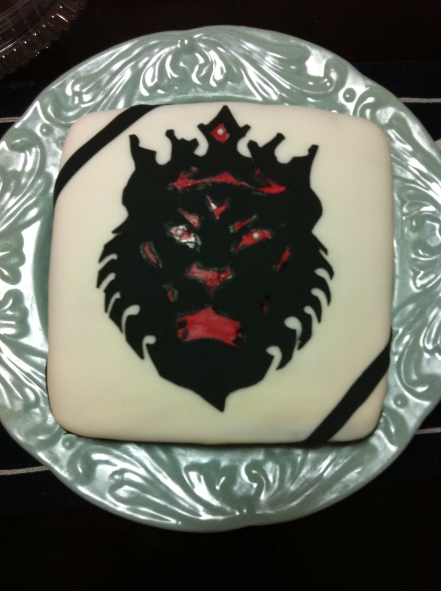 lebron james lion cake cakecentral com