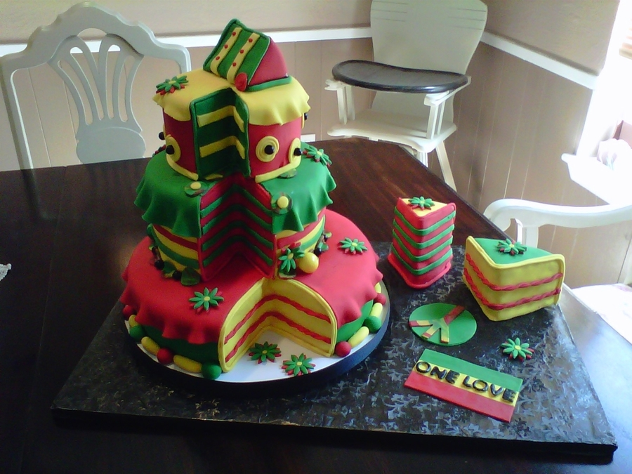 Rasta Birthday Cake Cakecentral Com