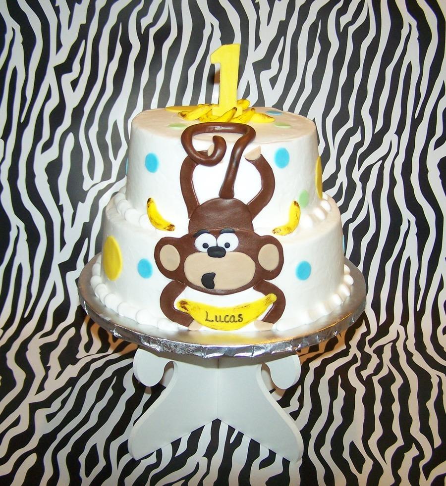 Marvelous Monkey Banana Birthday Cakecentral Com Funny Birthday Cards Online Elaedamsfinfo