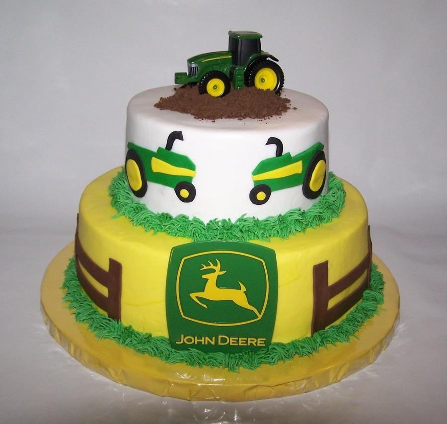 John Deere Baby Shower Cake Ideas
